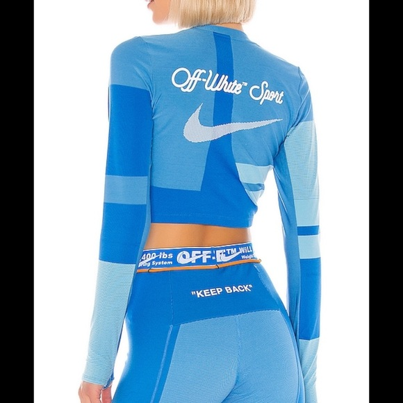 off white x nike leggings set